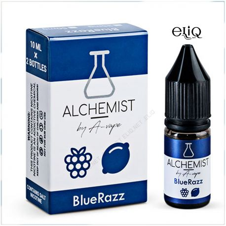 10 мл. BlueRazz Alchemist by A-Vape SALT - вейп-жидкость для заправки электронных сигарет. Соль Малина, лимон