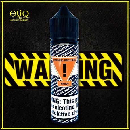 Warning Brothers Mango - вейп-жидкость для заправки электронных сигарет Манго