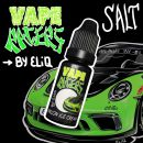 10 мл. MELON ICE CREAM Vape Racers by ELIQ SALT - вейп-жидкость для заправки электронных сигарет. Соль мороженое, дыня