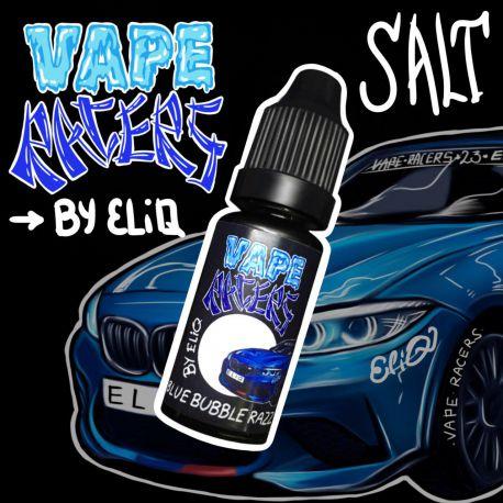 10 мл. BLUE RAZZ BUBBLE Vape Racers by ELIQ SALT - вейп-жидкость для заправки электронных сигарет. Малина, жвачка Соль