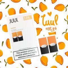 2шт JUUL POD 5% Mango - Картридж (под) для электронной сигареты, Pod-системы Джул Манго