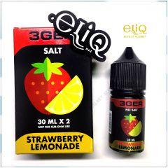 30 мл Strawberry Lemonade 3GERcraft SALT - вейп-жидкость для заправки электронных сигарет. Клубника, лимонад. Соль 3ger