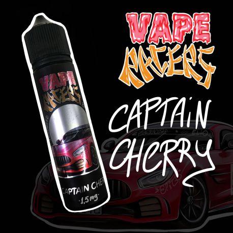 60 мл. CAPTAIN Black CHERRY Vape Racers - вейп-жидкость для заправки электронных сигарет. Капитан Блэк, вишня, шоколад
