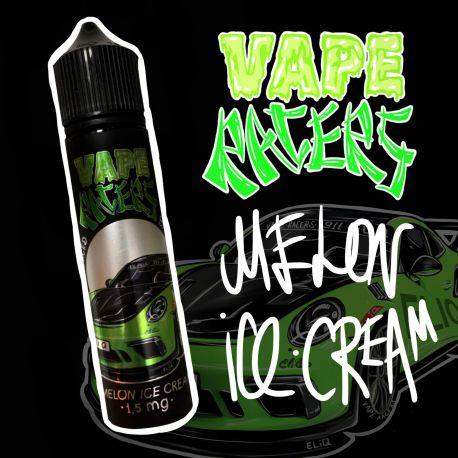 60 мл. MELON ICE CREAM Vape Racers by ELIQ - вейп-жидкость для заправки электронных сигарет. мороженое, дыня