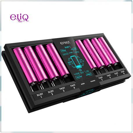 Efest LUC V8 зарядное устройство на 8 слотов. Быстрая зардка