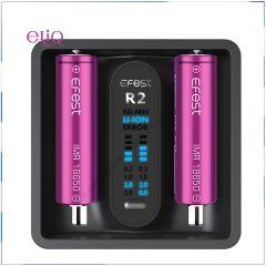 Efest iMate R2 Intelligent QC зарядное устройство на 2 слота. Самая Быстрая зарядка