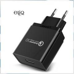 Efest QC 3 A USB adapter - сетевой адаптер для самой быстрой зарядки