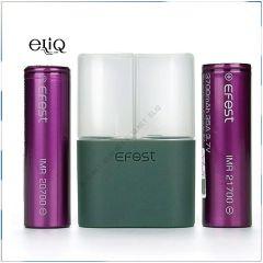 Efest кейс для хранения и транспортировки 2 шт аккумуляторов 20700 и 21700 Эфест