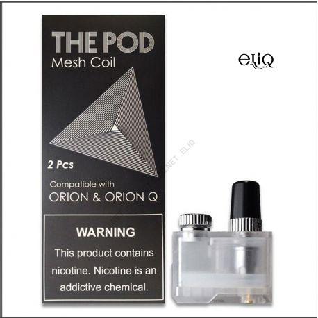 Картридж IQS The Pod Lost Vape Orion Q / Orion DNA Pod Coil (под, испаритель, спираль) Mesh - Сетка
