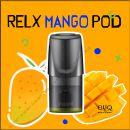 Mango RELX PODs 3% 30мг заправленные картриджи Манго