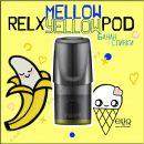 Mellow Yellow RELX PODs 3% 30мг заправленные картриджи (поды) банан, сливки