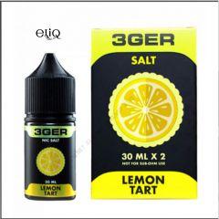 30 мл Lemon Tart 3GER SALT - вейп-жидкость для заправки электронных сигарет. Лимонный тарт. Соль