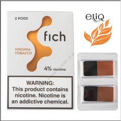 Картриджі Fich Pods Virginia Tobacco для POD-системи Fich 4% 2 шт. (Вірджинія Тобакко)