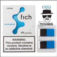 Картриджі Fich Pods Heisenberg для POD-системи Fich 4% 2 шт. (Хайзенберг)