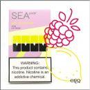 4шт JUUL SEA pods Pink lemonade - Картридж (под) для электронной сигареты Джул лимонад малина