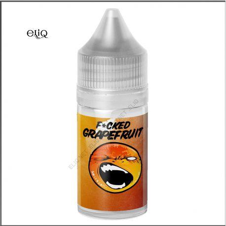 30ml F*cked Liquids Grapefruit SALT. Жидкость для заправки под-систем. Грейпфрут Соль