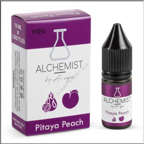 10 мл. Pitaya Peach Alchemist by A-Vape SALT - вейп-жидкость для заправки электронных сигарет. Алхимик Соль Питайя, персик