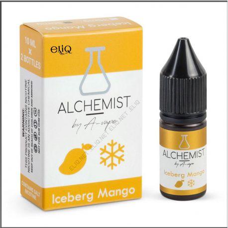 10 мл. Ice Mango Alchemist by A-Vape SALT - вейп-жидкость для заправки электронных сигарет. Алхимик Соль манго, лёд