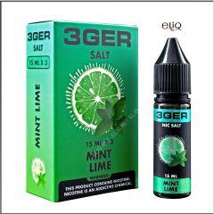 15 мл Lime Mint 3GERcraft SALT - вейп-жидкость для заправки электронных сигарет. Лайм и мята Соль