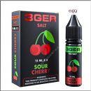 15 мл Sour Cherry 3GERcraft SALT - вейп-жидкость для заправки электронных сигарет. Вишня. Соль