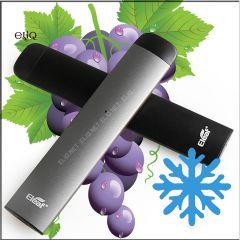 Eleaf iStick D Pod Disposable Grape Ice мини-вейп, одноразовая электронная сигарета. Виноград, холодок