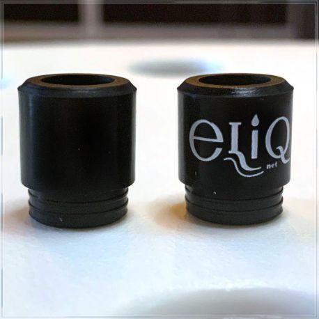 [810] Черный силиконовый дрип-тип Элик