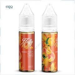 15ml 40mg Fluffy Puff Mango Tango SALT. Жидкость для заправки электронной сигареты. Манго, гуава, мандарин. Соль