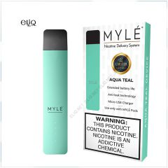 Myle Vapor Device Only Magnetic Edition (Aqua Teal) Pod-система на основі сольового нікотину. Майли Бірюзовий