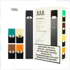 JUUL 200мАч + 4 PODs 0.7мл Starter kit мини-вейп, электронная сигарета. Pod-система