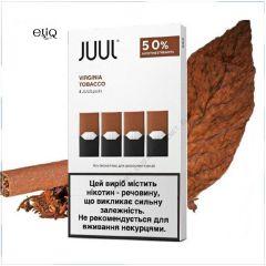 4шт JUUL POD 5% Virginia - Картридж (под) для электронной сигареты, Pod-системы Джул Вирджиния
