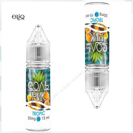 15 мл 45 мг UVA Сольник Tropic Salt - вейп-жидкость для заправки электронных сигарет. Тропический микс. Соль