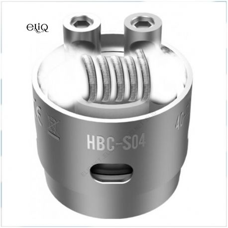 GeekVape Eagle Replacement HBC - S04 / SSTC Clapton 0.25 ohm. Испаритель Гиквейп с04 для атомайзера Игл 25.