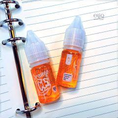 11 мл 50 мг Orange ICE Salt - вейп-жидкость для заправки электронных сигарет. Соль Апельсин, персик, манго
