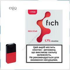 Картридж Fich Pods Red Star для POD-системи Fich 1,7% 1 шт.