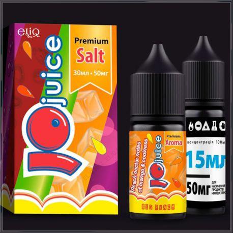 Big peach JoJuice Salt 30 мл набор компонентов Персик-Манго Соль
