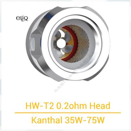 Испаритель HW-T2 Coil Head 0.2ohm для Eleaf iJust 3 Kit и атомайзера Ello Duro Tank. Оригинал.