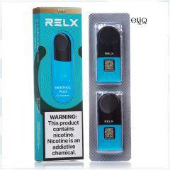 Menthol Plus RELX 2 POD PRO заправленные картриджи (поды) Ментол