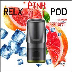 Pink Zest RELX PODs 3% 30мг заправленные картриджи (поды) Грейпфрут