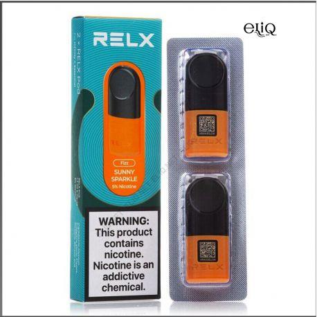 Sunny Sparkle RELX 2 POD PRO заправленные картриджи (поды) Фанта