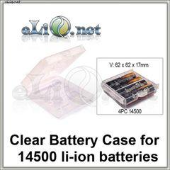Кейс для 14500 литий-ионных аккумуляторов