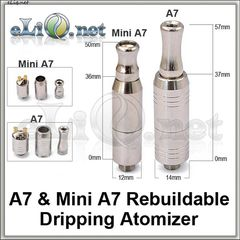 A7 & Mini A7 Rebuildable Dripping Atomizer