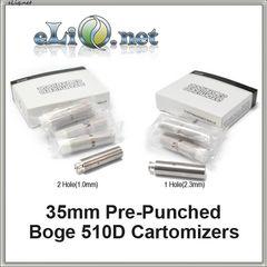 New! 35 мм Boge 510D для DCT сменный дуалкоил картомайзер