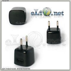 Маленький AC-USB Адаптер для зарядки от сети / Mini 750mA USB Power Adapter Charger