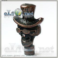 Барон Суббота  (Металлический дриптип Череп в шляпе)