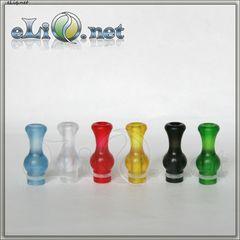 [510] Ming Vase Drip Tip (прозрачный пластиковый дрип-тип в форме вазы)