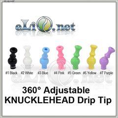 360°Adjustable 510 Drip Tip (акриловый дрип-тип)