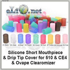 Short Mouthpiece Cover for CE4 & 510 & Ovape