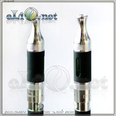 [VapeOnly] 2.5ml ET-S Glass BDCC разборной двуспиральный клиромайзер с нижним расположением спиралей.