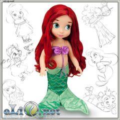 Кукла Принцесса-малышка Ариэль (Disney)