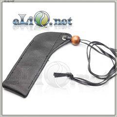 V2 Кожаный чехол с бусинкой для ношения электронной сигареты eGo на шее